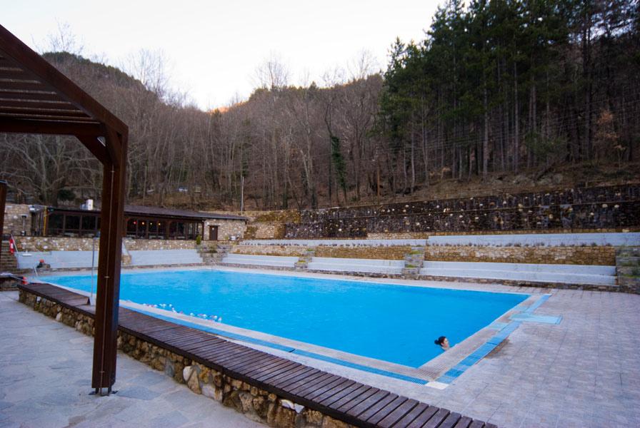 Λουτρά Πόζαρ πισίνα χαμάμ spa