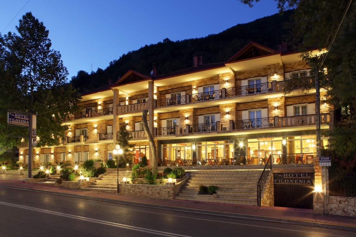 Ξενοδοχείο Φιλοξενία στα Λουτρά Πόζαρ, Λουτράκι Αριδαία, Λουτράκι Αλμωπίας, Λουτράκι Πέλλας, Ξενοδοχεία